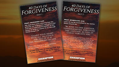 40 Days of Forgiveness